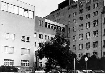 Former hospital on Goethestraße