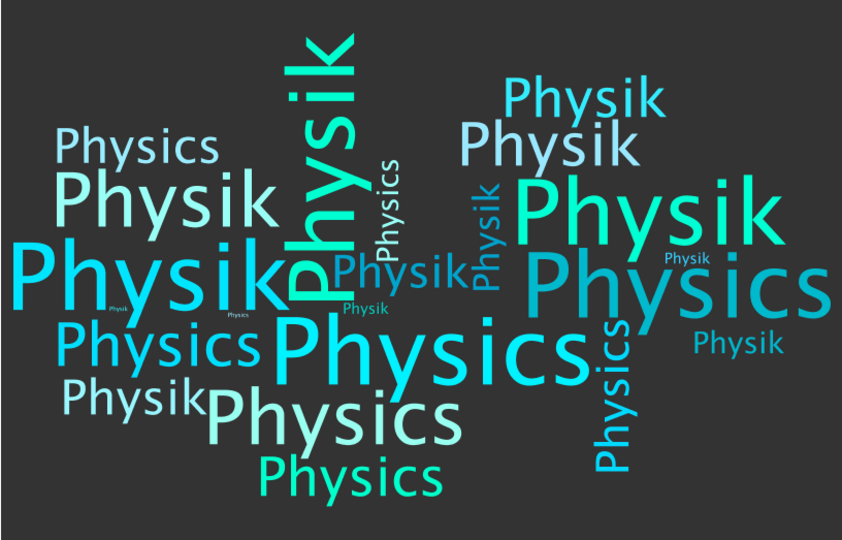 wordle Physik