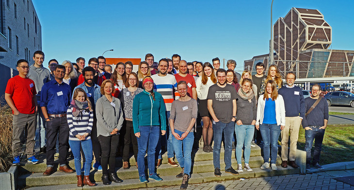 "Retreat of the BMGS segment ""Cellular and Molecular Biology"" in Hasselt, Belgium"